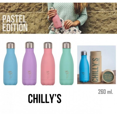 Termo Chilly's Bottle 260ml Pastel Edition