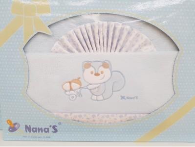 Sabanas 3 piezas Coralina Cuna Nana's