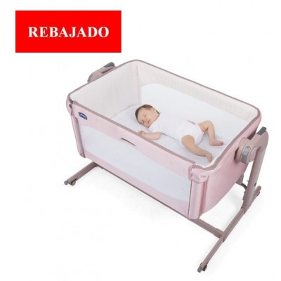 MINICUNA COLECHO NEXT2ME MAGIC CANDY ROSA CHICCO