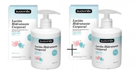 Pack ahorro Loción Hidratente 400ml Suavinex
