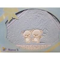 Capa de Baño Nana's - Pareja ositos 557