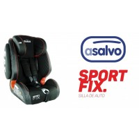 SILLA AUTO SPORT ISOFIX GR.1,2,3 ASALVO